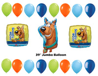 Scooby Doo Birthday Balloons 19pc