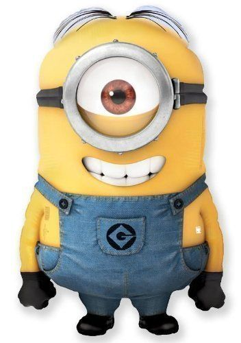 Giant Despicable Me Minion Stuart Balloon