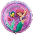 The Little Mermaid Happy Birthday Balloon Ariel