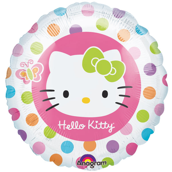 Hello Kitty Polka Dots Balloon