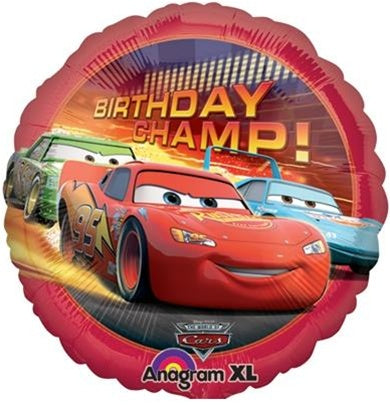 Disney Cars Movie 2 Birthday Balloon