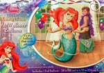 "Little Mermaid Ariel 53"" Airwalker Birthday Balloon"