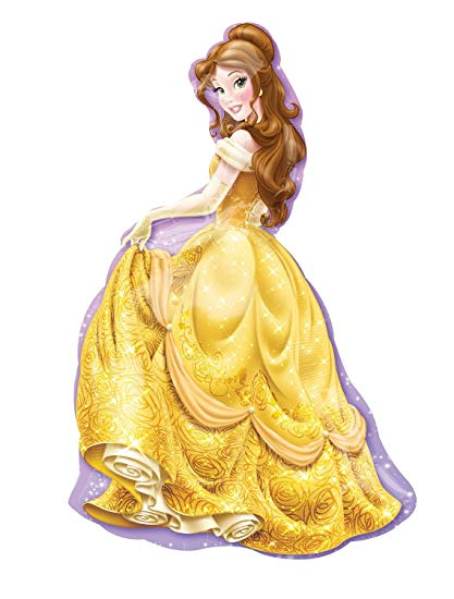 Disney Princess Belle Balloon Beauty and the Beast