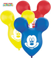 15 inch Disney Mickey Mouse Ears Latex Balloons