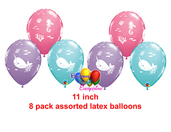 Fun under the sea party latex balloons