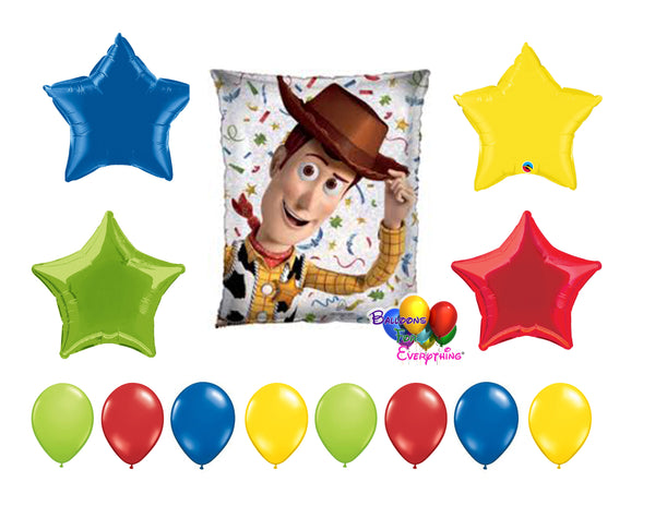 Woody Birthday Balloons Toy Story 4