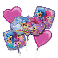 Shimmer and Shine Birthday Balloon Bouquet