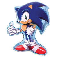 XL Sega Sonic the Hedgehog Birthday Balloon