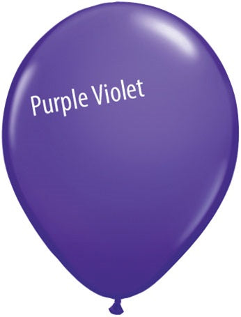 11in Purple Violet Latex Balloons