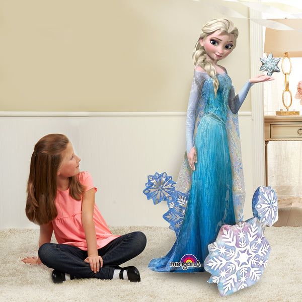 "Disney Frozen Princess Elsa 57"" Airwalker Birthday Balloon"