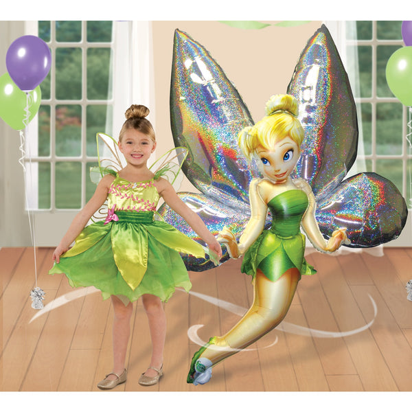 "Disney Tinker Bell 66"" Airwalker Birthday Balloon"