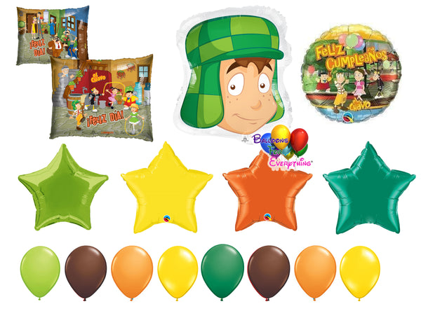 El chavo del 8 birthday party balloons