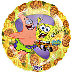 SpongeBob Patrick Birthday Balloon