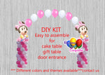 Baby Minnie Mouse Balloon Arch Columns DIY Kit