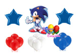 Sega Sonic the Hedgehog Birthday Party Balloons