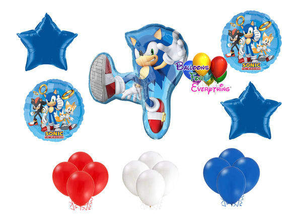 Sonic the Hedgehog Birthday Balloons