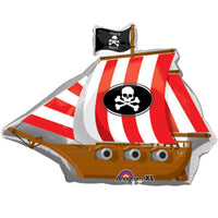 Pirate Ship Jumbo Party Balloon