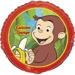 Curious George Party Balloon