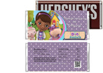 Doc McStuffins Birthday Candy Bar Wrappers