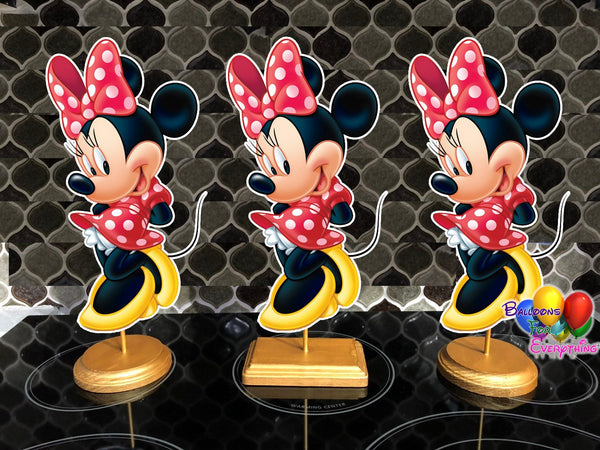 Disney Minnie Mouse Party Centerpieces