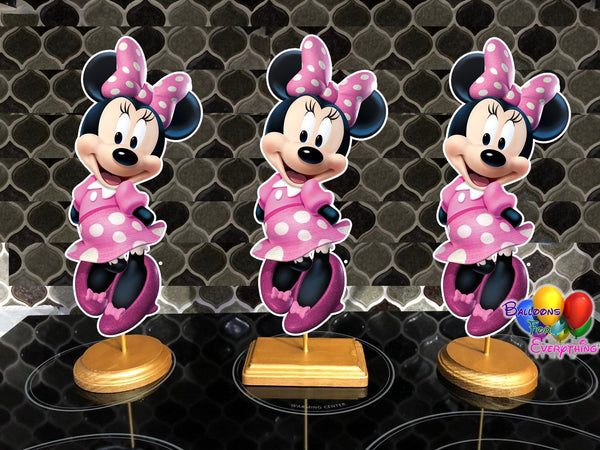 Disney Pink Minnie Mouse Party Centerpiece