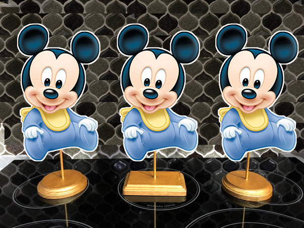 Baby Mickey Mouse Party Centerpieces