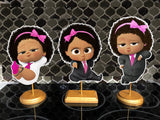 Boss Baby Girl Light Skinned Centerpieces