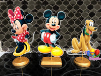 Disney Mickey and Pals Party Centerpieces
