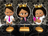 Princess Boss Baby Girl Centerpieces