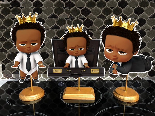 King Boss Baby Centerpieces