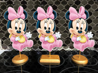 baby minnie mouse party centerpieces