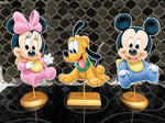 Baby mickey minnie pluto party decorations