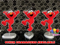 Elmo Party Centerpieces