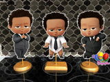 Light Skinned Boss Baby Party Centerpieces
