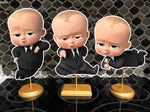 The Boss Baby 1st Birthday Party Centerpieces