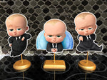 The Boss Baby Party Baby Shower Centerpieces