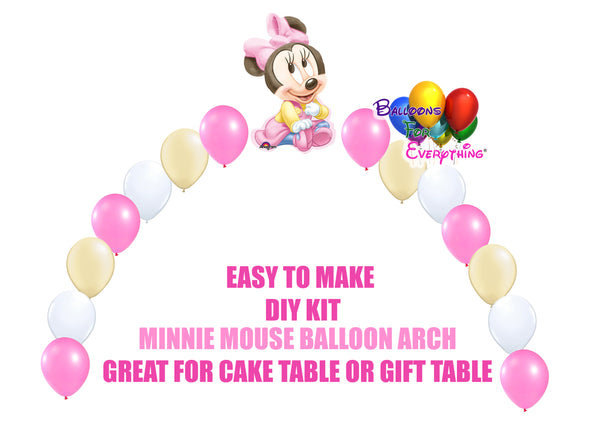 Baby Minnie Party Balloons