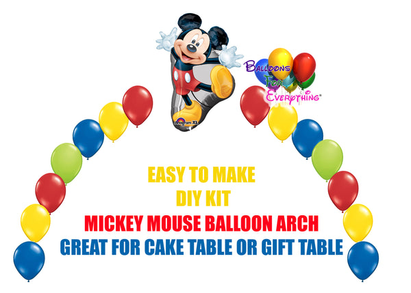Mickey Mouse DIY Kit Balloon Arch