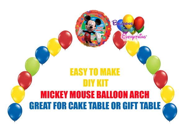 Mickey Clubhouse Birthday Balloons