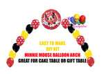 Minnie Mouse Balloon Arch DIY Kit