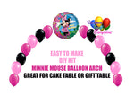 Minnie Mouse Birthday Balloon Arch DIY Kit