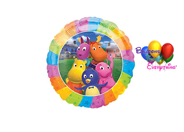 Backyardigans Birthday Balloons