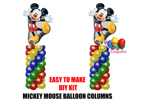 Feestartikelen Disney Red Minnie Mouse Birthday Column Balloons