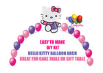 Hello Kitty Birthday Balloon Arch Party Decorations