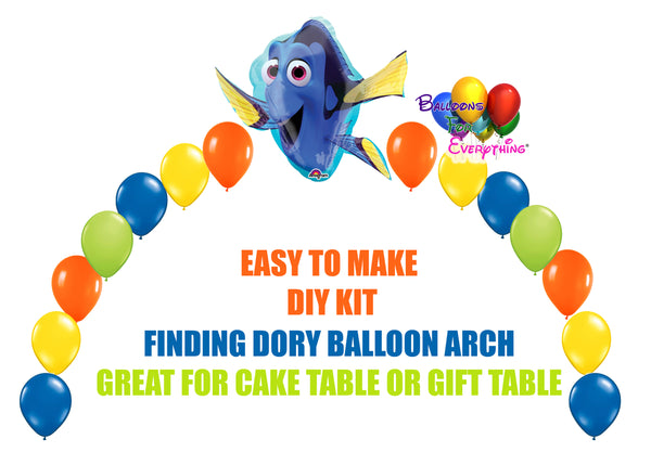 Finding Dory Birthday Balloon Arch Party Decoration