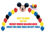 Mickey Mouse Balloon Arch DIY Kit
