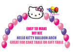 Hello Kitty Birthday Balloon Arch Party Decoration