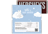 Dumbo Elephant Baby Shower Candy Bar Wrapper
