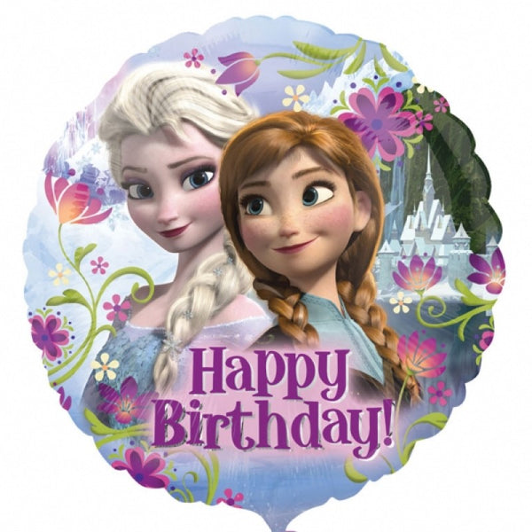 Disney Frozen Anna and Elsa Birthday Balloon