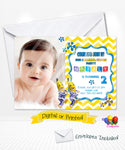 Bananas in Pyjamas Birthday Photo Invitations